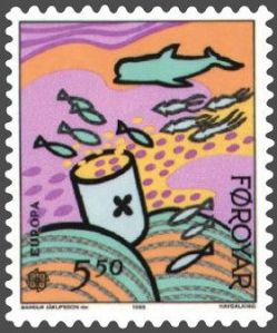 Faroe_stamp_129_sea_pollution_-_consequences 22 01 14
