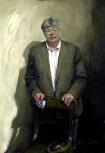 New portrait of Simon Weston recently unveiled at the National Portrait Gallery.